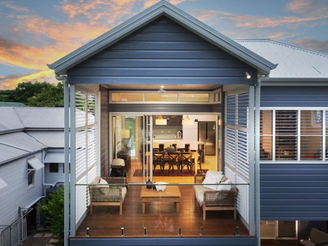 Queenslander Cottage Renovation in Brisbane