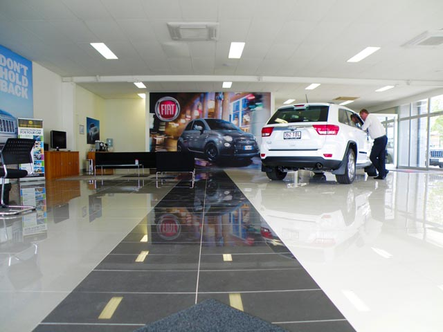 Motor Vehicle Display Showroom, Aspley Stage 1
